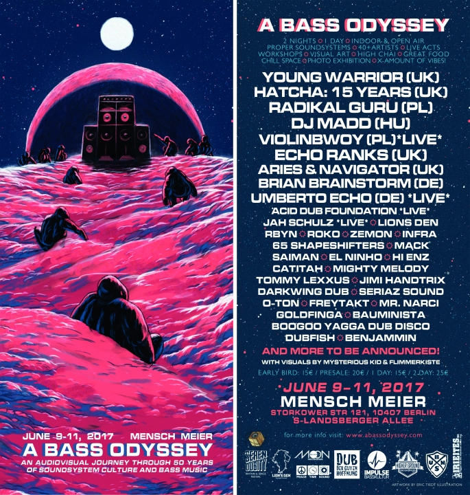 A Bass Odyssey - Flyer (Front & Back)